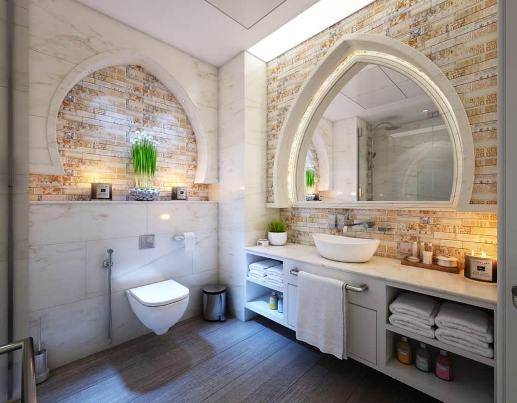 mobile home bathroom mirrors