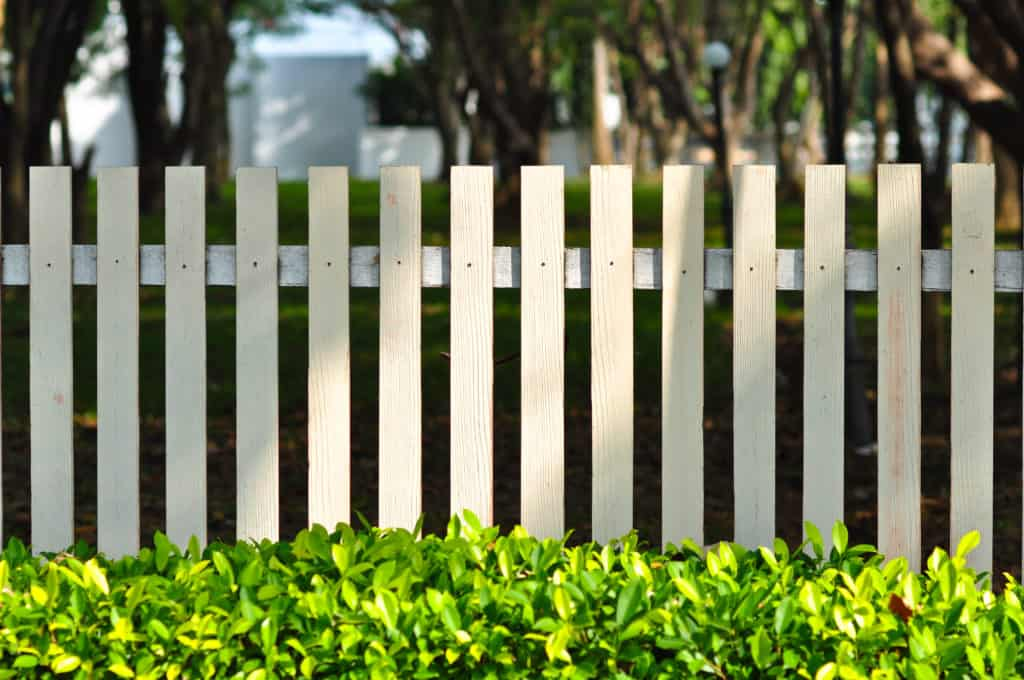 wooden gates and fences